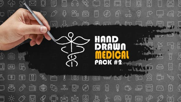 Thumbnail for Hand Drawn Medical Pack 2