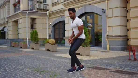 Thumbnail for Afro-Typ tanzt Latino-Tanz-Straße