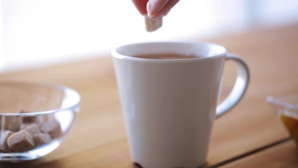 Thumbnail for Hand Adding Sugar To Cup Of Tea Or Coffee 25
