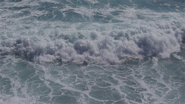 Rough Sea Waves