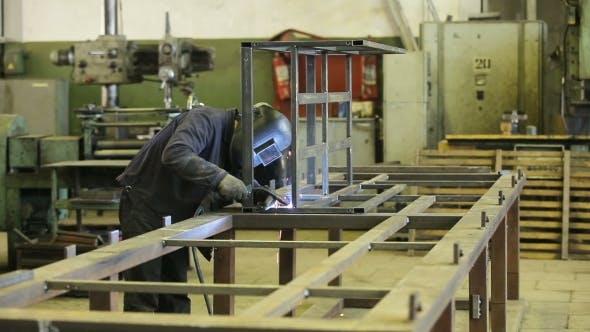 Thumbnail for Welder At Work