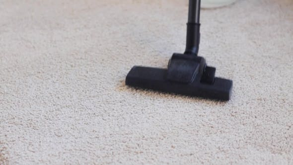 Thumbnail for Woman With Vacuum Cleaner Cleaning Carpet At Home 46