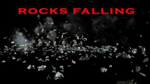 Felsen fallen