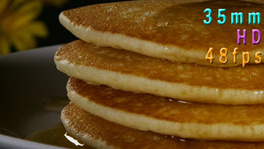 Thumbnail for Syrup Pouring Onto Pancakes 29