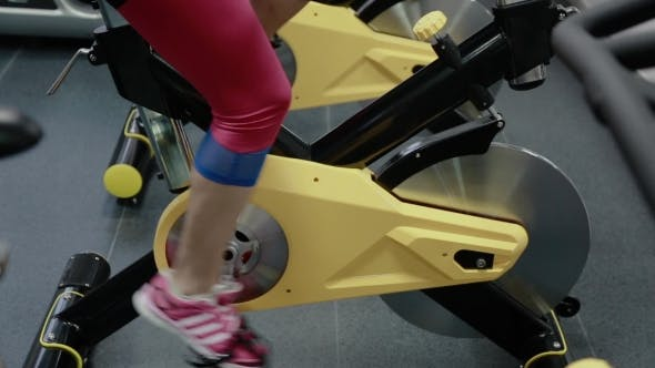 Thumbnail for Girl On a Bike At The Gym
