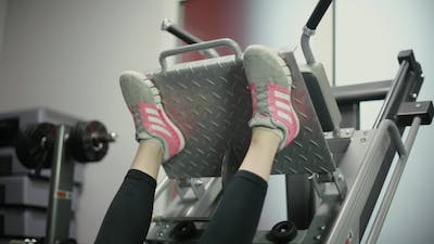 Of The Feet On The Simulator