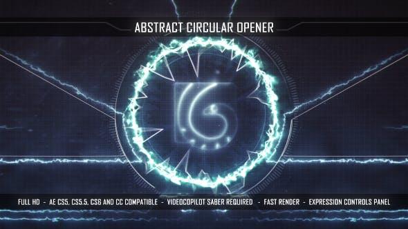 Thumbnail for Abstract Circular Opener