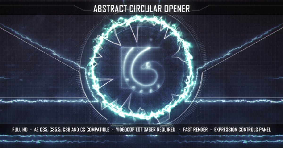 Abstract Circular Opener by starfaII