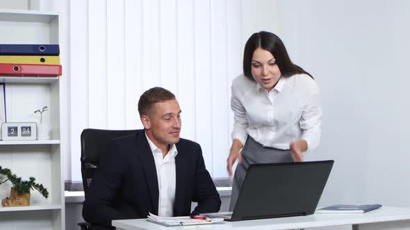 The Boss Explains the Job To the Employee