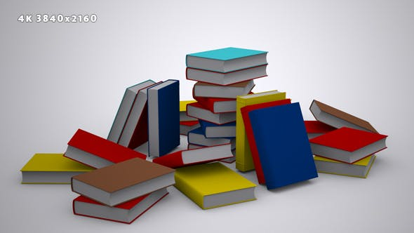 Thumbnail for A Stack of Books - Background