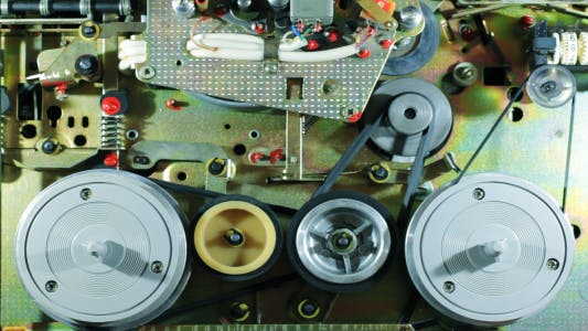 Cover Image for Mechanism Two-Speed Reel-To-Reel Tape Recorder-Prefix 5