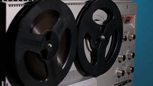 Rewind Reel To Reel Tape