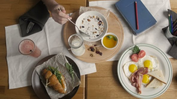 Thumbnail for Fresh Breakfast Table. Healthy Food
