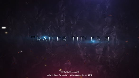 Thumbnail for Trailer Titles 3