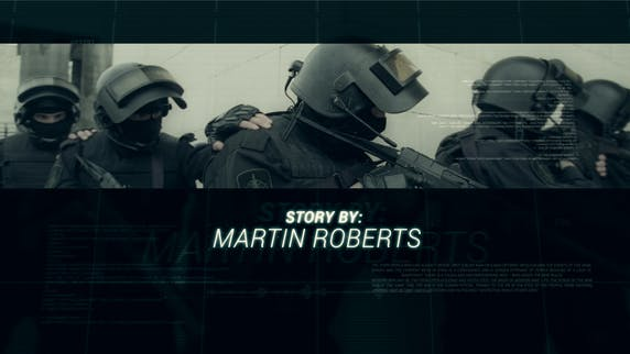 Thumbnail for Military Cinematic title