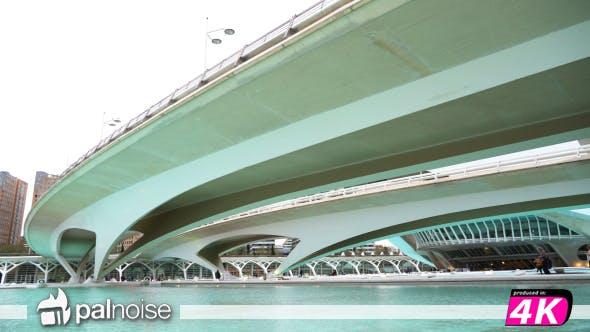 Thumbnail for Modern City Urban Bridge