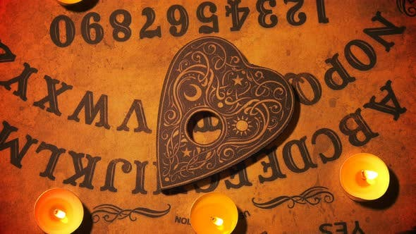 Thumbnail for Witch Craft Ouija Board Spirit Game 11