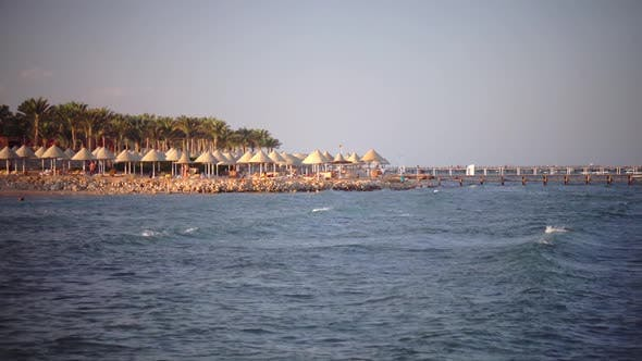 Thumbnail for People on Holiday Enjoy the Air and Sea Breeze
