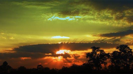 Thumbnail for Time Lapse Magic Sunset
