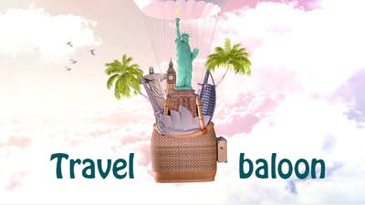 Travel in the balloon