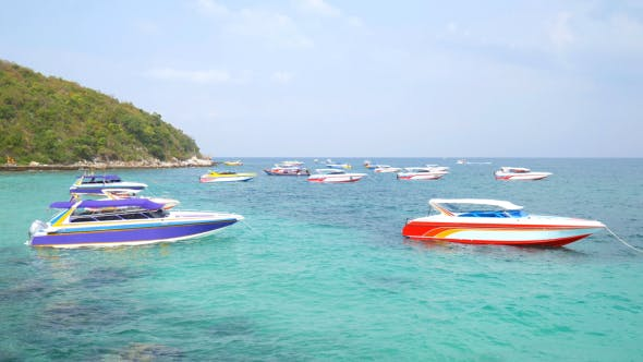 Thumbnail for Speed Boat on the Sea
