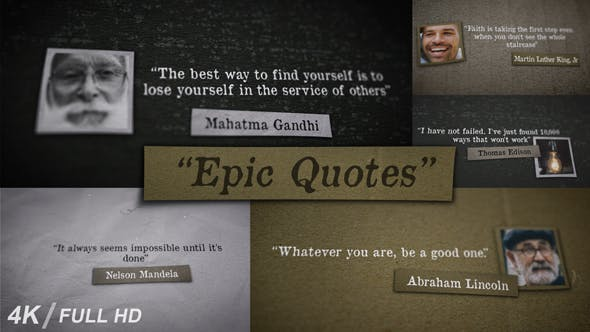 Thumbnail for Epic Quotes