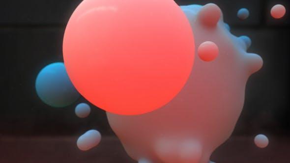 Thumbnail for Metaball colorful