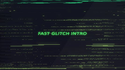 Thumbnail for Fast Glitch Intro