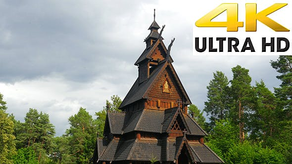 Thumbnail for Stave Church, Norway
