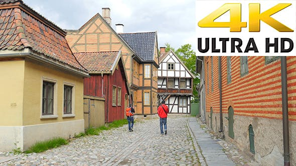 Thumbnail for Historical Streets of Oslo, Norway