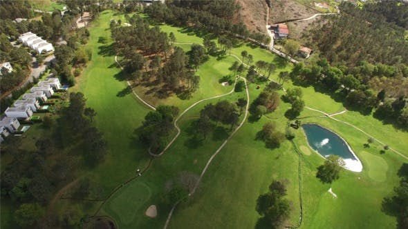 Thumbnail for Golf Course Aerial View