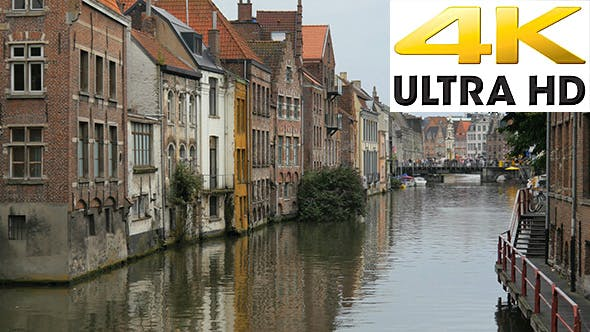 Thumbnail for Ghent City view, Belgium