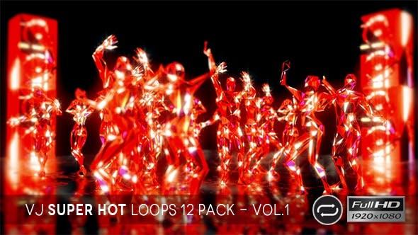 Thumbnail for VJ Super Hot Loops Vol.1 - 12 Pack