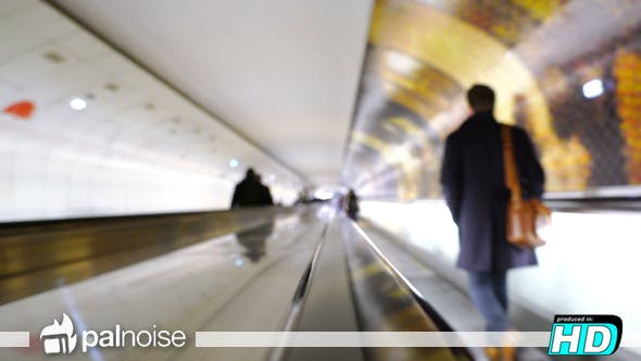 Thumbnail for Underground Subway Hall Corridor