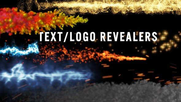 Thumbnail for Logo -Text Revealers