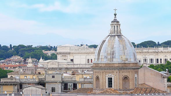 Thumbnail for Rome Panorama view, Italy