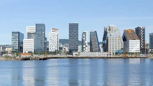 Thumbnail for Barcode Project High-Rise Apartments of Oslo Norway