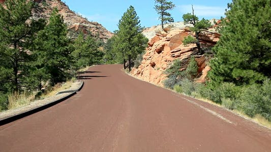 Thumbnail for Zion Drive at National Park 02 Full HD