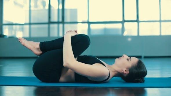 Thumbnail for Woman Do Yoga Indoors