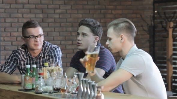 Thumbnail for Guys Talk At The Bar