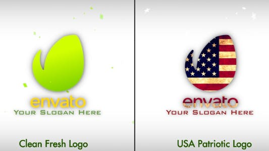 Thumbnail for Fresh & July 4th Patriotic Logo Opener - Apple Motion