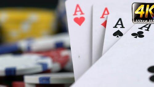 Gambling Poker Cards Concept