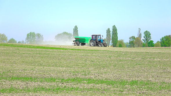 Thumbnail for Tractor with Fertilizers in the Farm Field