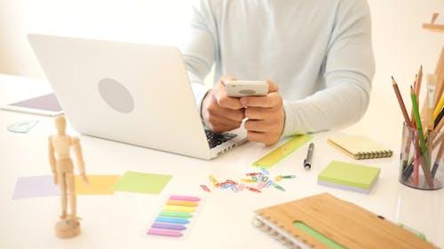 Text Messaging for Work in Studio