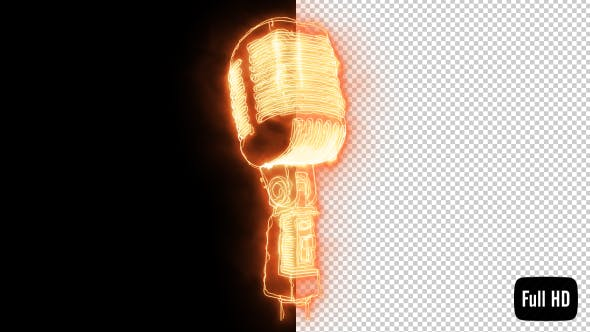 Thumbnail for Burning Microphone