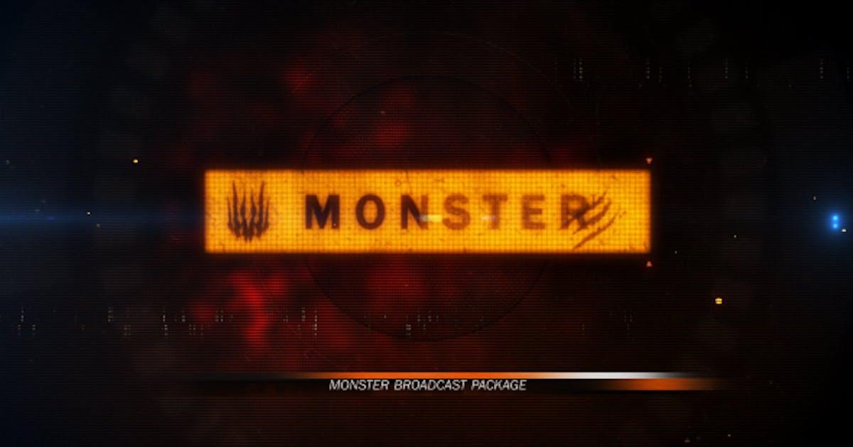 Download Monster Broadcast Package by ZeroLink