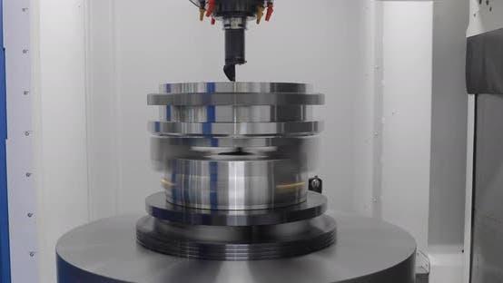 Thumbnail for Metalworking CNC Lathe Milling Machine