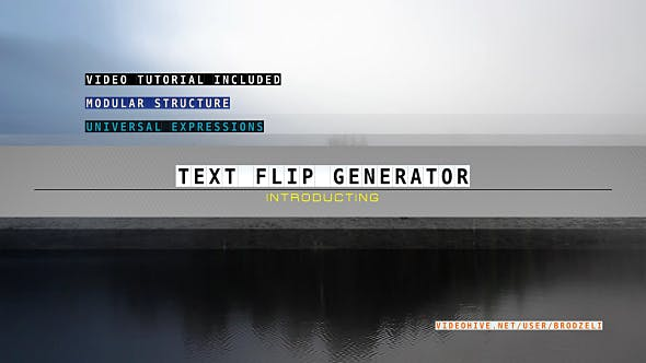 Thumbnail for Text Flip Generator