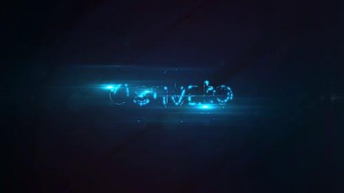 Logo Reveal Flicker
