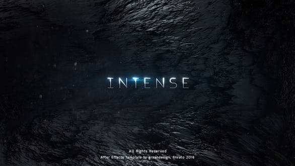Thumbnail for Intense | Trailer Titles